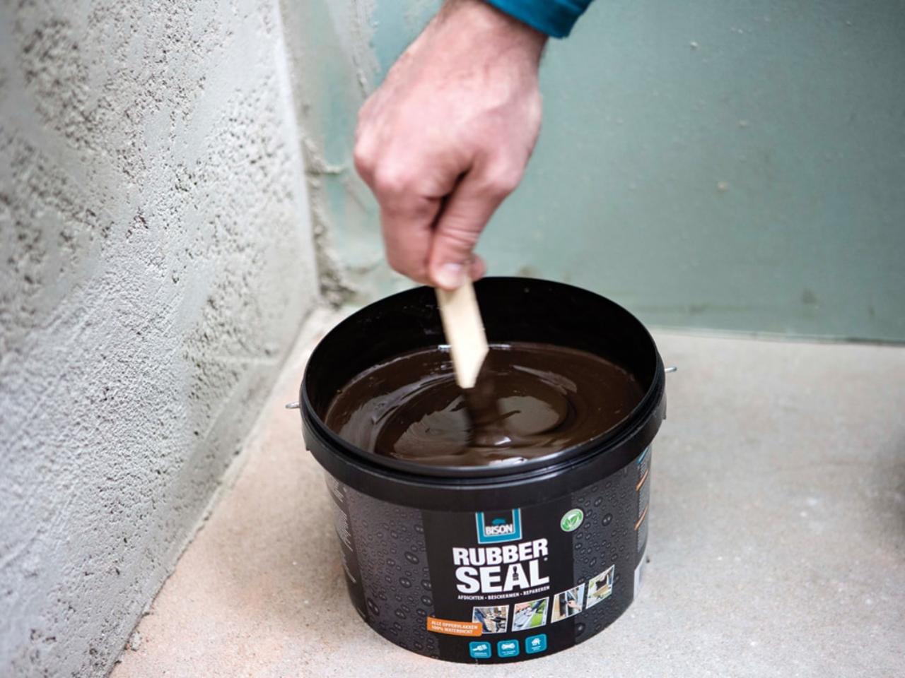 Bison | Voegen waterdicht maken