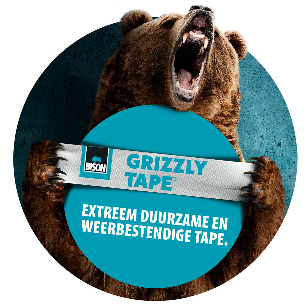Grizzly Tape® kop